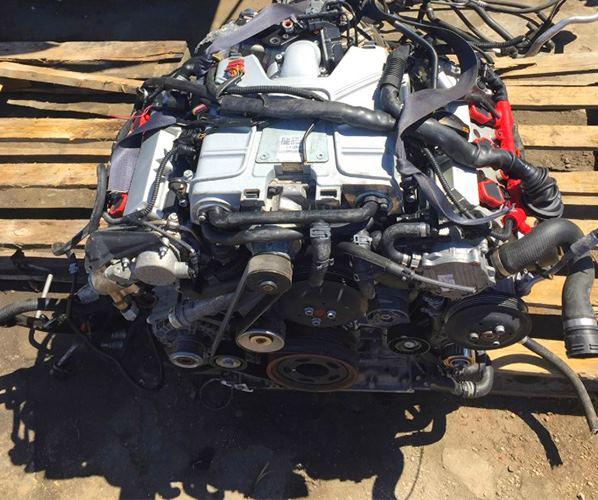MOTOR ENGINE CAJA 3.0 TFSI COMPLETO