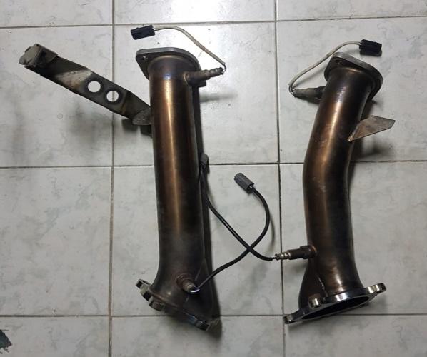 DOWNPIPE TUBO ESCAPE NISSAN GTR GT-R