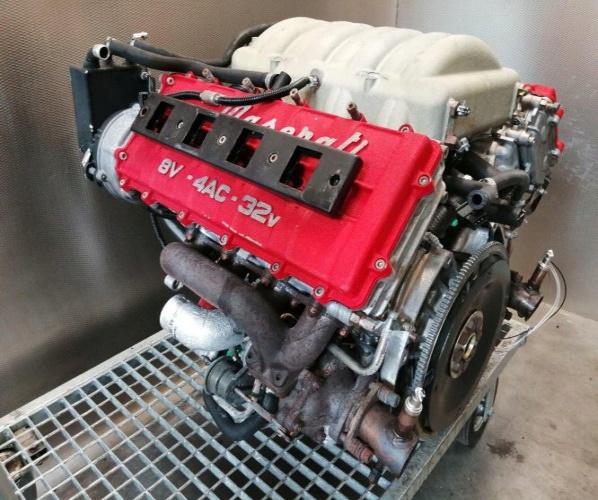 COMPL. MOTOR MASERATI 3200GT 3,2 BITURBO V8 AM 585