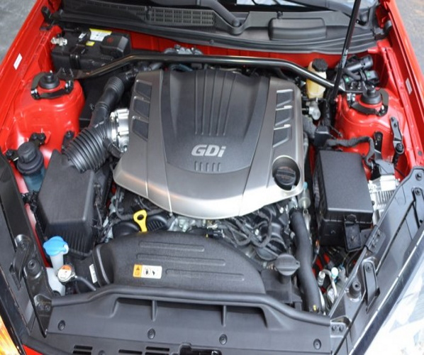 HYUNDAI GENESIS COUPE MOTOR 3.8 2014 350KM G6DJ