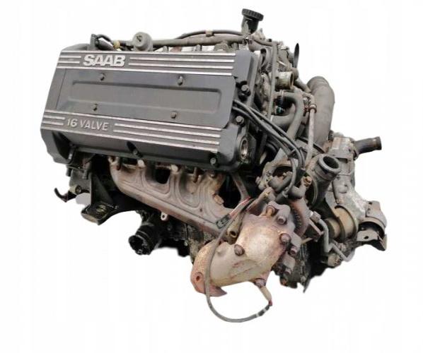 SAAB 900 AŃO TURBO MOTOR + OSPRZET + CAJA