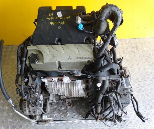 MITSUBISHI OUTLANDER 2003- MOTOR COMPL. 2.4 4G69 MIV