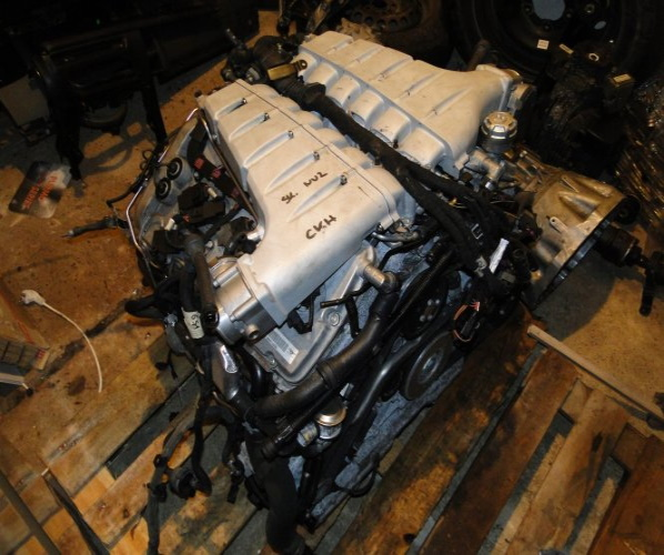 MOTOR COMPL.BENTLEY CONTINENTAL GT 6.0 CKH 35000KM
