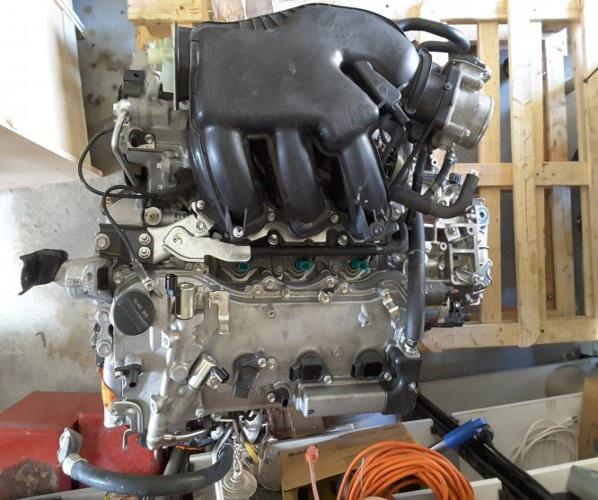 TOYOTA SIENNA 2013 MOTOR 3,5 V6 CAMRY LEXUS
