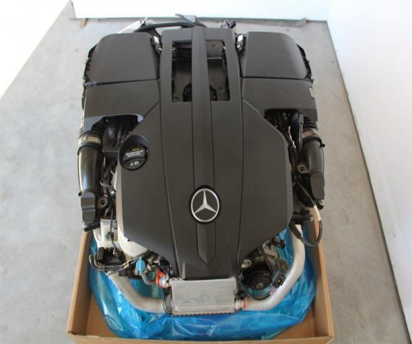 MOTOR MERCEDES W222 3,0 M 276.824 COMPL.