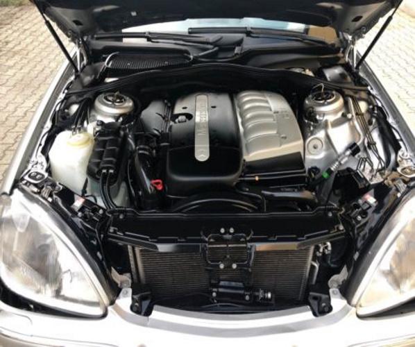MERCEDES W220 W210 320 CDI MOTOR 613 COMPL.