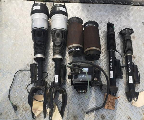 MERCEDES GL X166 AMORTIGUADORES BOMBEADO COMPL.ET