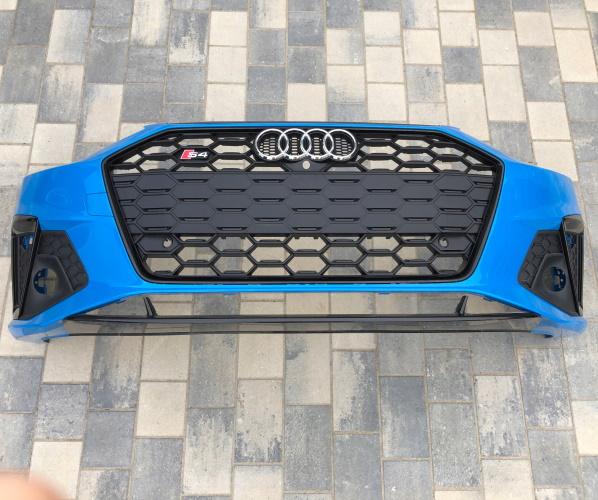 PARAGOLPESS AUDI A4 S4 B9 8W0 LIFT 4XPDC BLACK 19