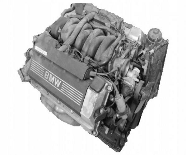 MOTOR COMPL. 4.4 V8 M62B44 BMW E38 E39 97R
