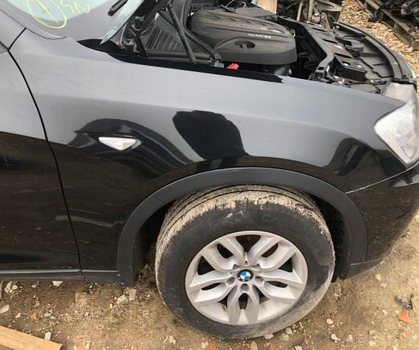 ALETA DER. FRENTE BMW X3 F25 BLACK SAPPHIRE 475