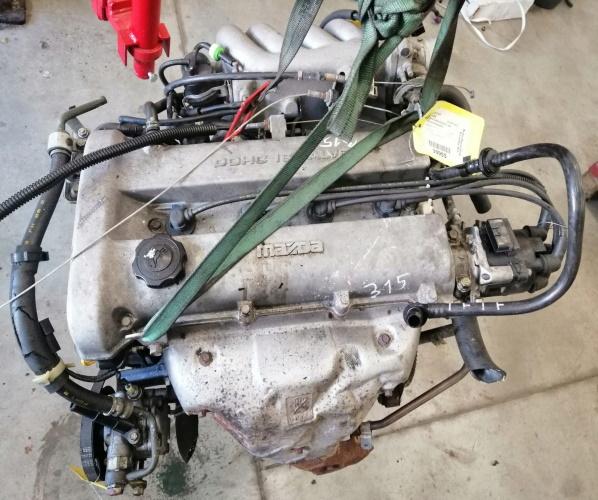 MAZDA 323 MOTOR 1.8 16V 94- !!127MIL.KM KM