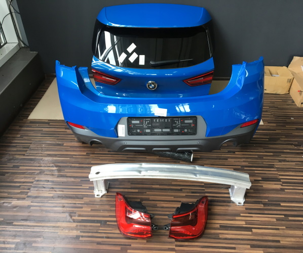 BMW-X2-F39-ZDERZAK-TYL-PDC-M-PAKIET-KAMERA-KOMPLET