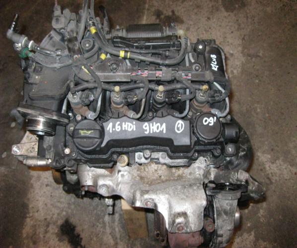MOTOR 9H01 1.6 HDI CITROEN PEUGEOT COMPL