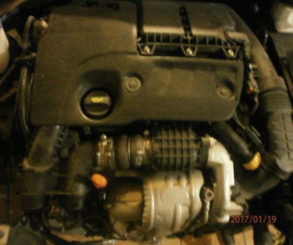 MOTOR PEUGEOT 208 308 CITROEN C3 1.6 EHDI 10JBHA