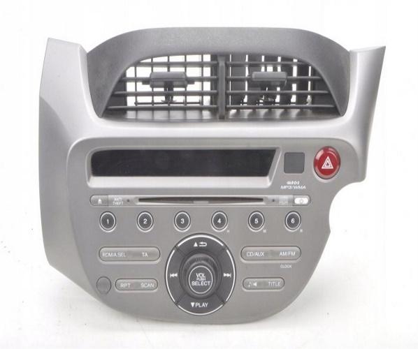 HONDA JAZZ III RADIO ORIGINAL 39101-TF0-E212